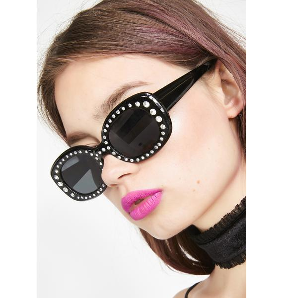 Ice Up Rhinestone Sunglasses