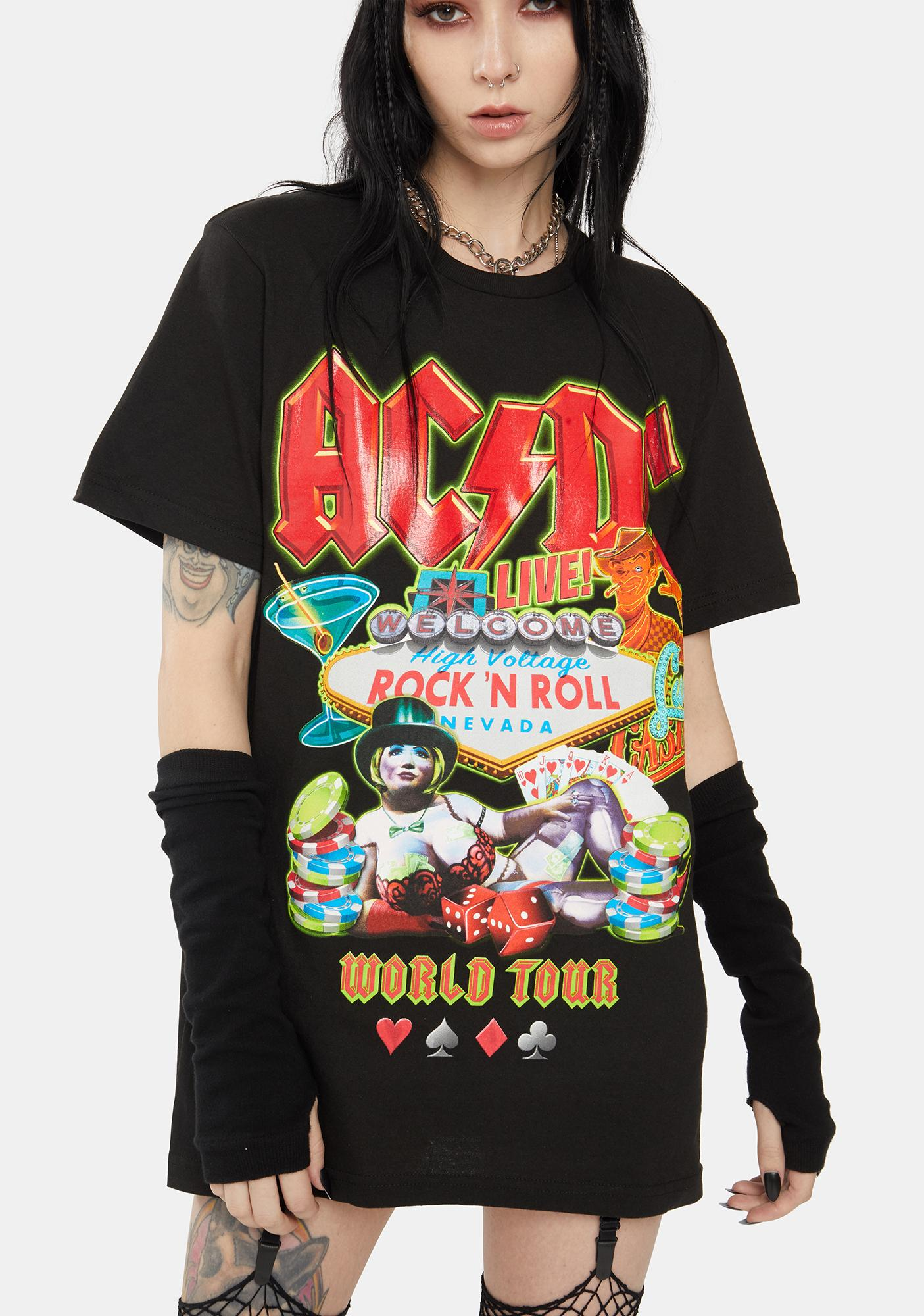 Reason x AC/DC Rock Or Bust Tour Graphic Tee