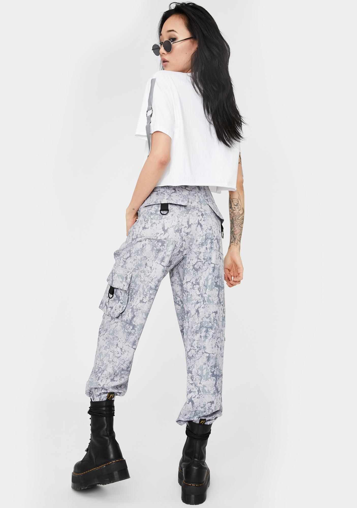 Nana Judy Grey Camo Matira Cargo Pants