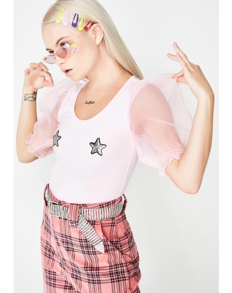 Star Boob Bodysuit