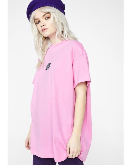 Don't Look At Me Oversized T-Shirt
