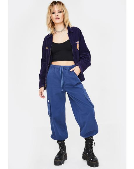 Raff Baggy Cuffed Cargo Pants