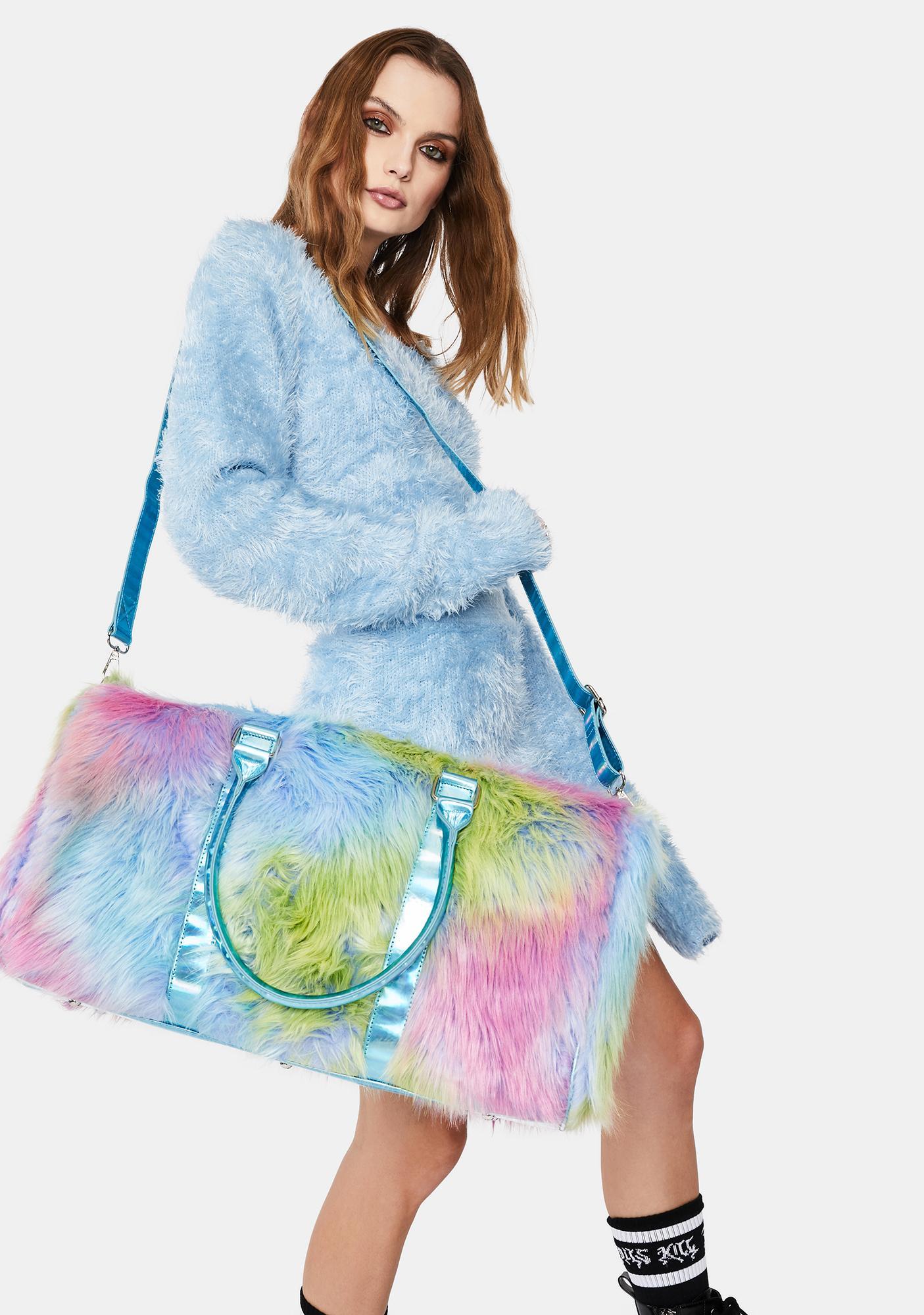 Current Mood Electric State Tie Dye Furry Weekender