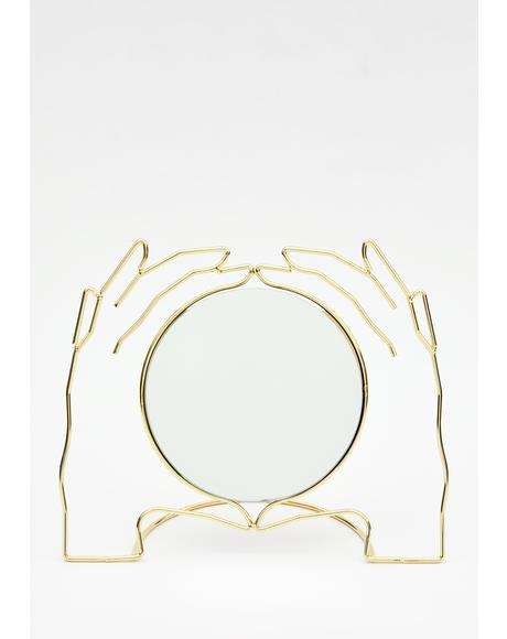 Out Of Hand Table Mirror