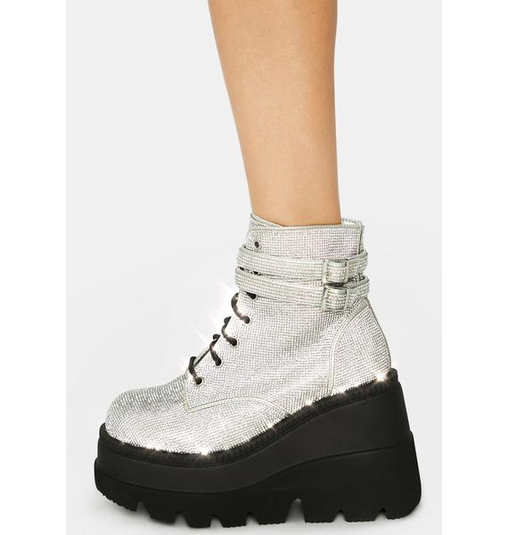 Demonia Bling Technopagan Boots