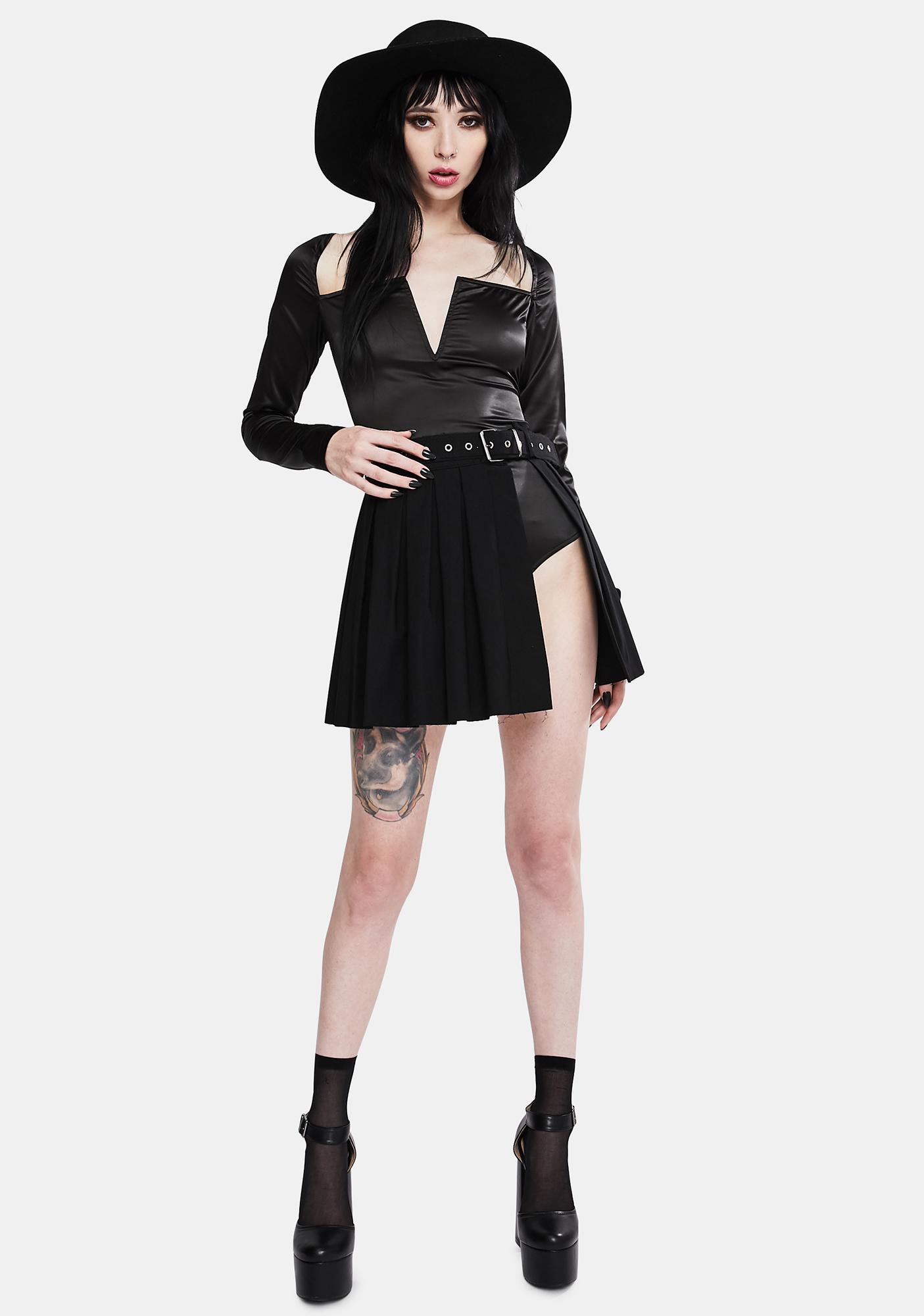 Kiki Riki Punk Persuasion Pleated Mini Skirt