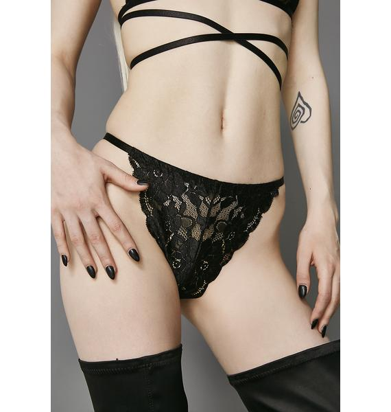 Widow Poison Lace Undies
