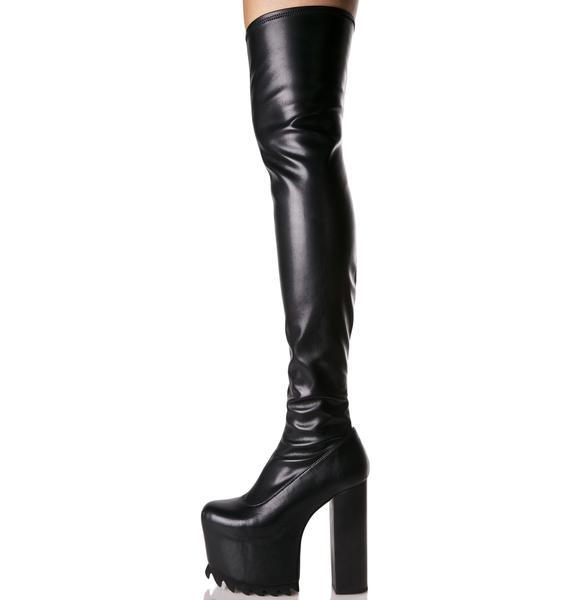 Current Mood Nightcap Thigh-High Boots