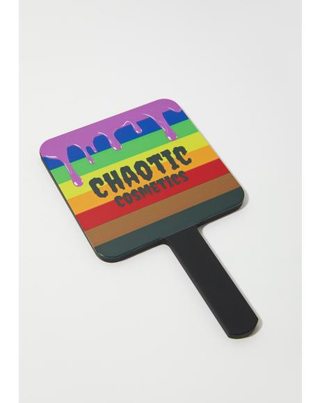 Rainbow Pride Drip Mirror