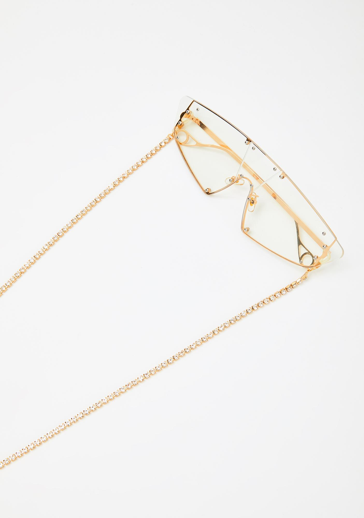 Gimme Bling Rhinestone Sunglasses Chain