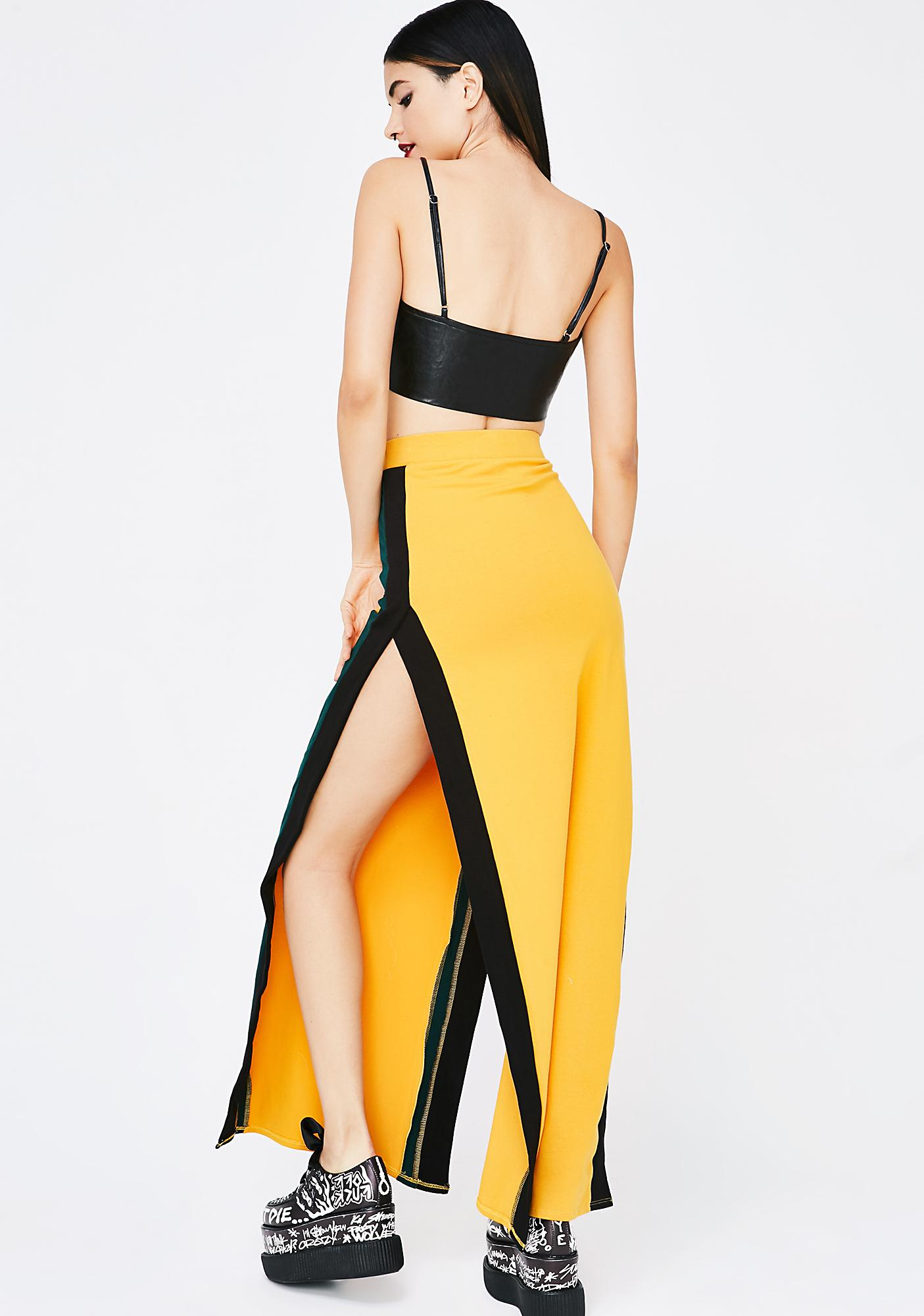 First Gear Striped Skirt