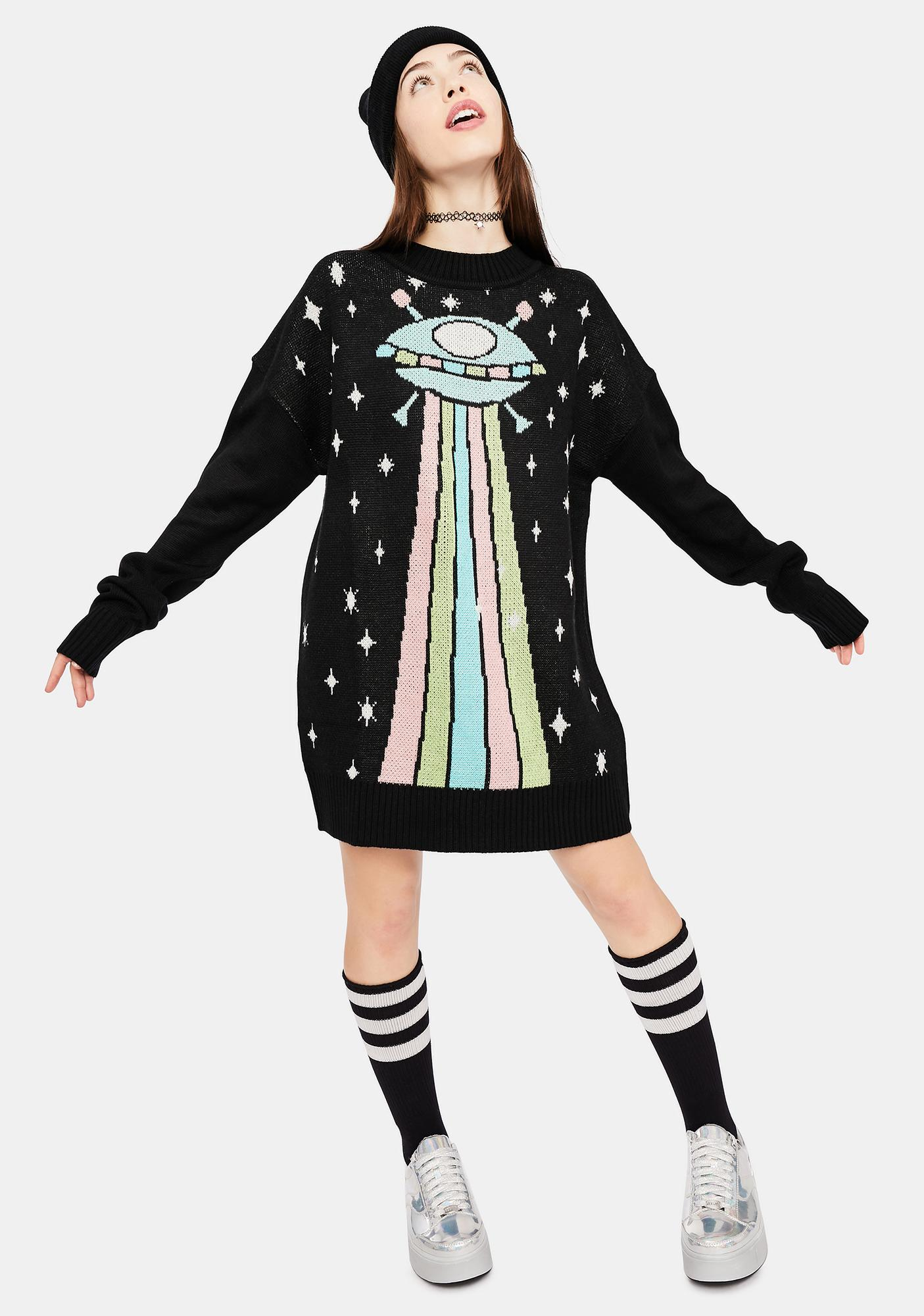 dELiA*s by Dolls Kill In My Atmosphere Knit Sweater