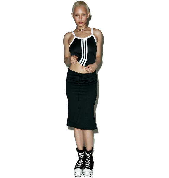 American Deadstock Time Out Midi Skirt