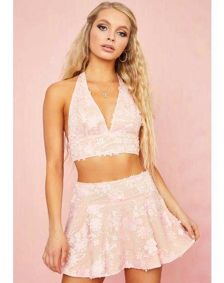 Petal Posse Mini Skirt