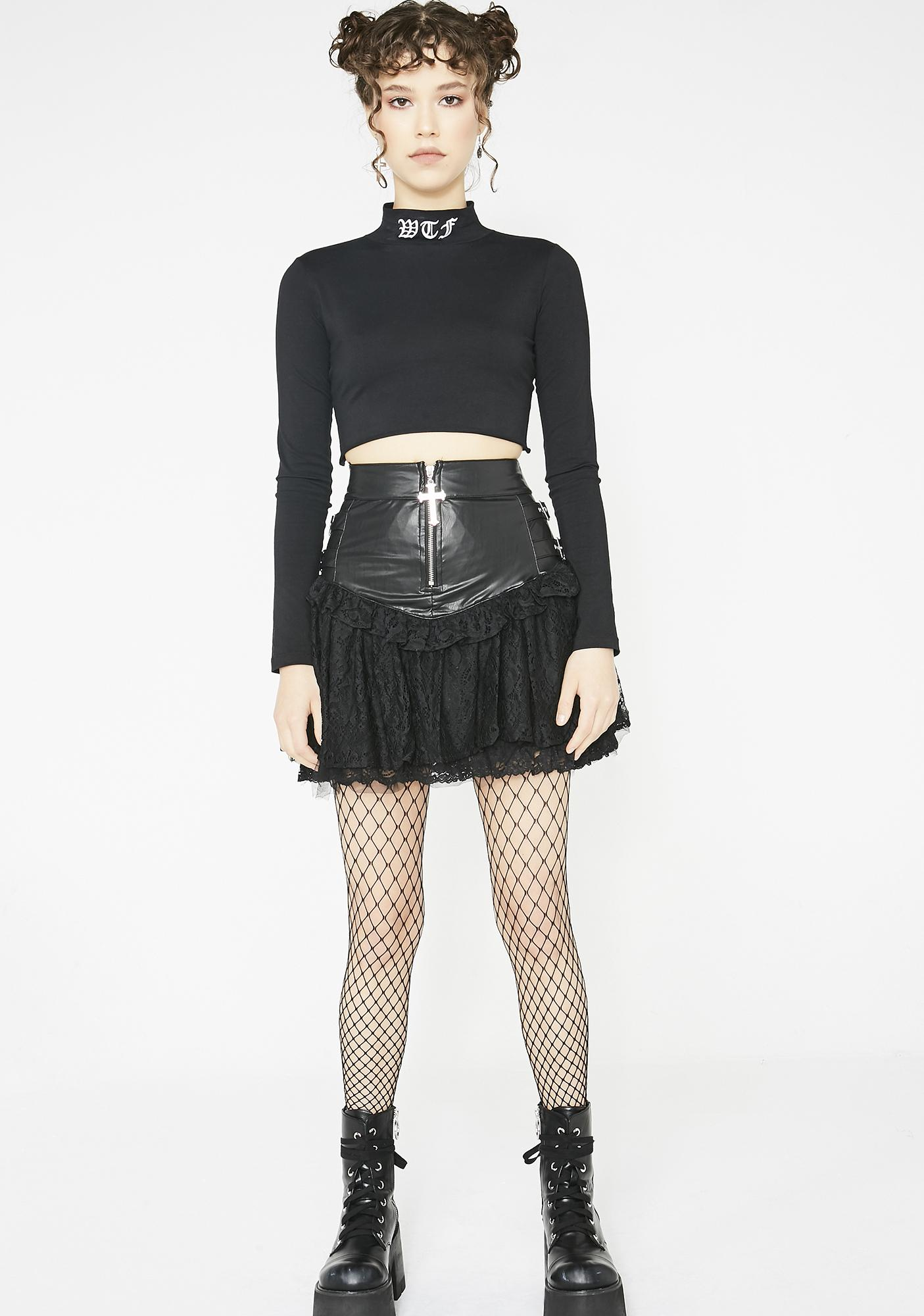 Killstar Isadora Lace Skirt