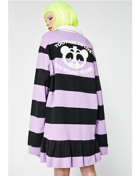 Too Fast Rugby Dress