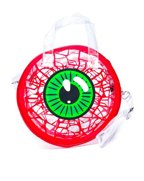 Clear Eyeball Handbag