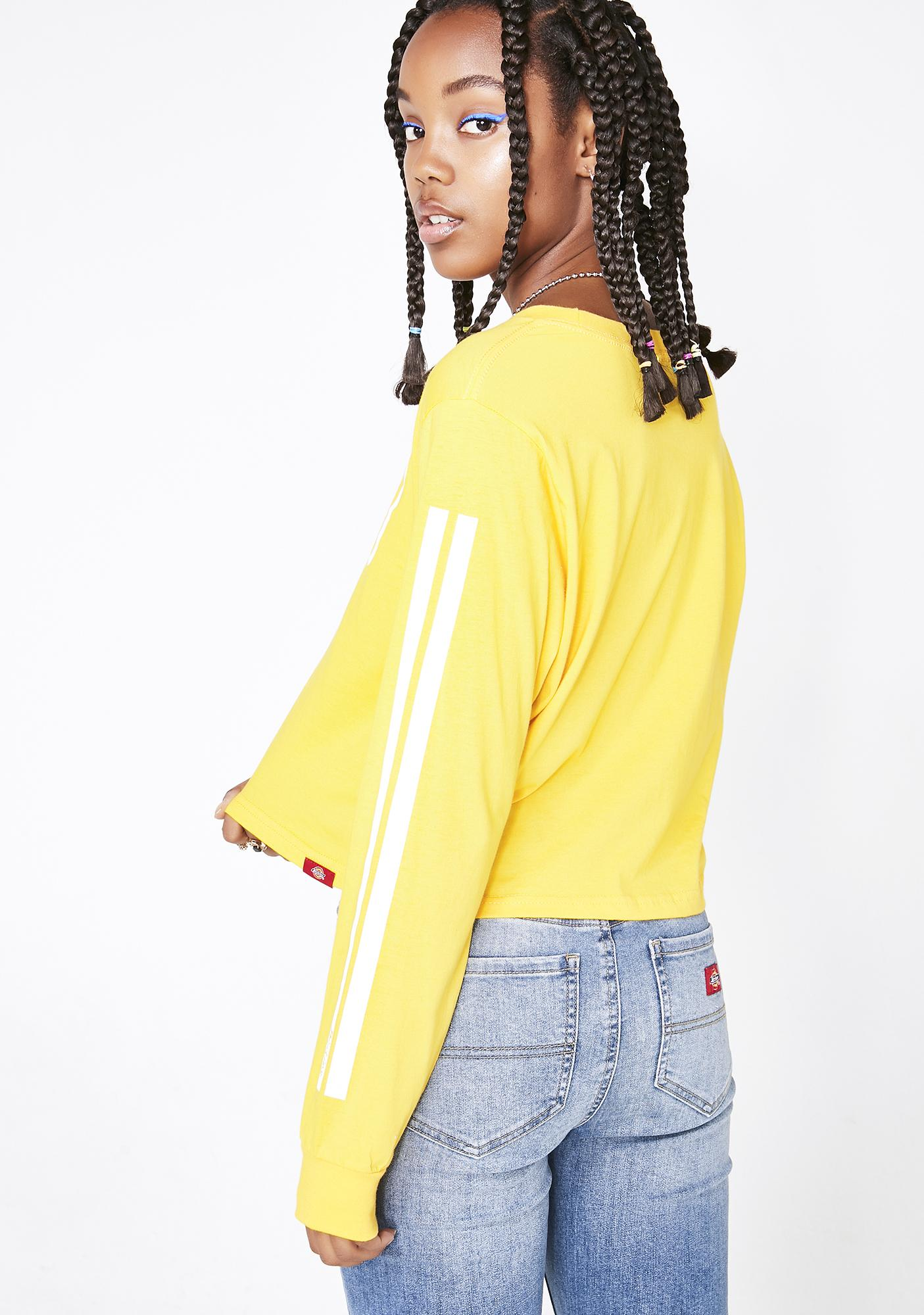 Dickies Girl Sunny Vintage Stamp Relaxed Tee