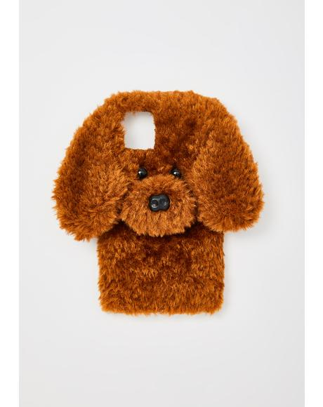 Chocolate Fur Baby iPhone Case