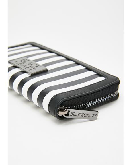 Unholy Stripe Wallet