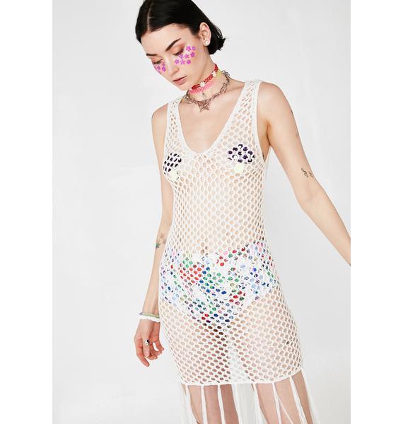 The Peacenik Crochet Dress