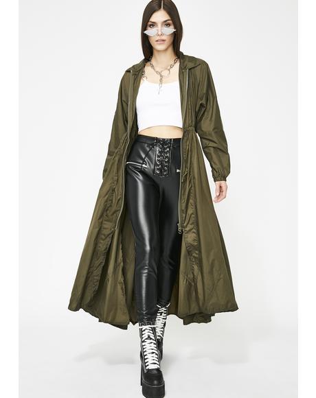 Bad Attitude Longline Jacket