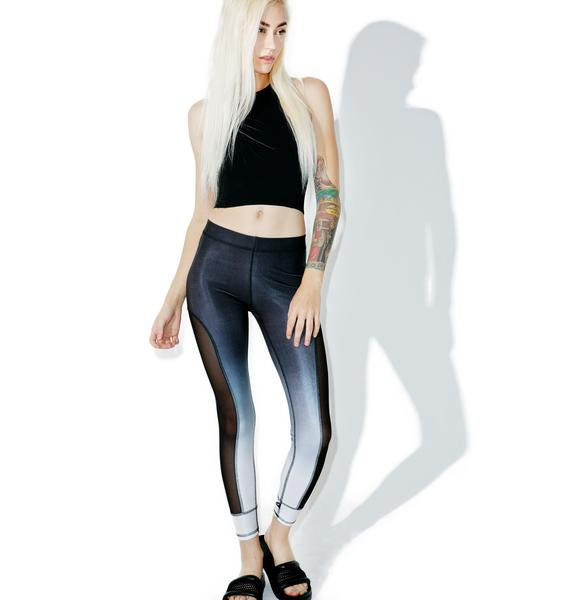 Terez Black Ombre Leggings