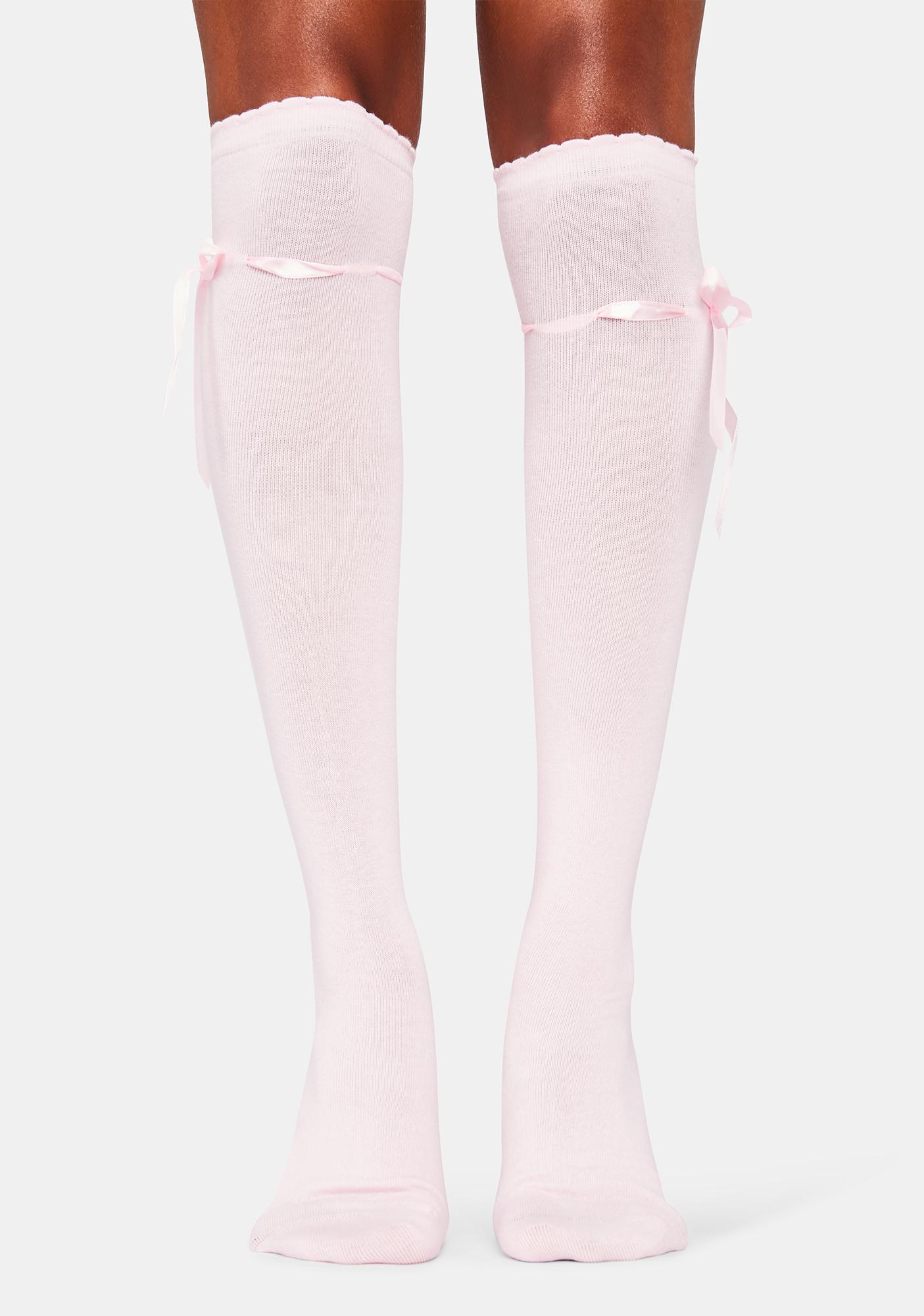 Blush Quiet Dreams Knee High Socks