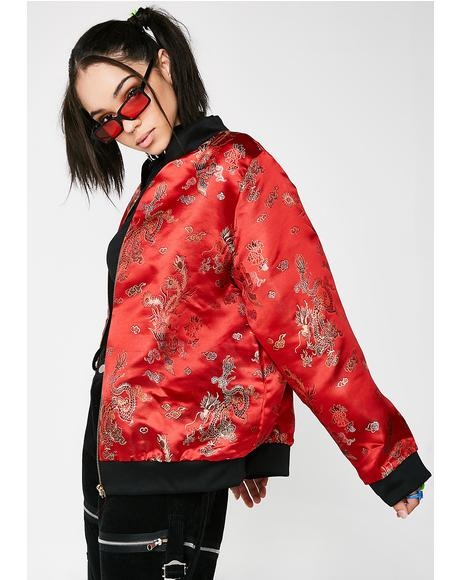 Gong Li Bomber Jacket