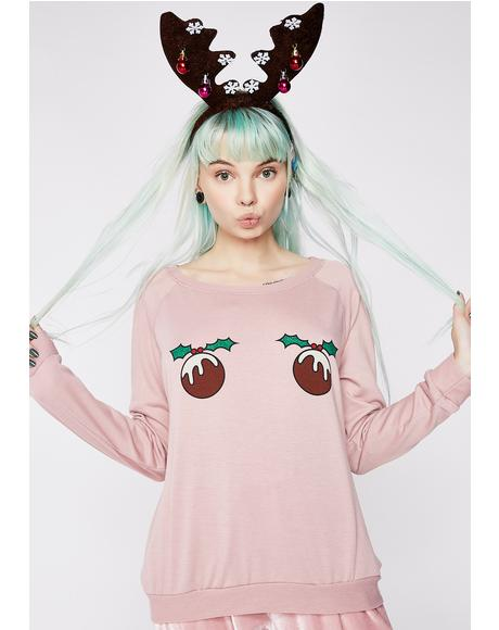 Ornaments Boob Sweater