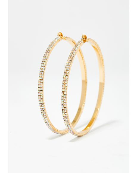 VIP Lane Hoop Earrings