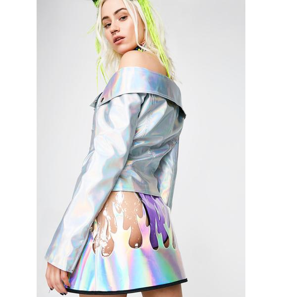 Take A Rocket Hologram Jacket