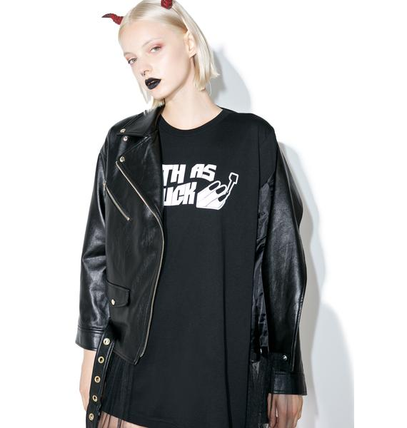 Witch Worldwide Goth As Fuck T-Shirt