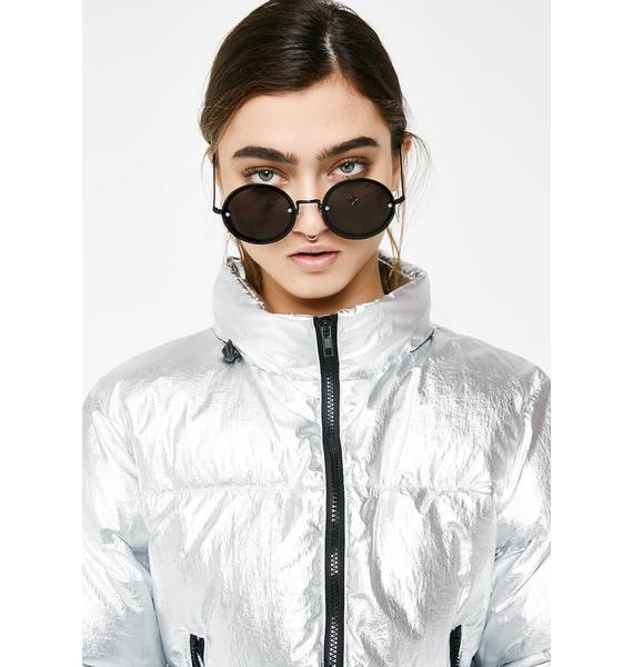 Current Mood Blow Your Mind Puffer Jacket