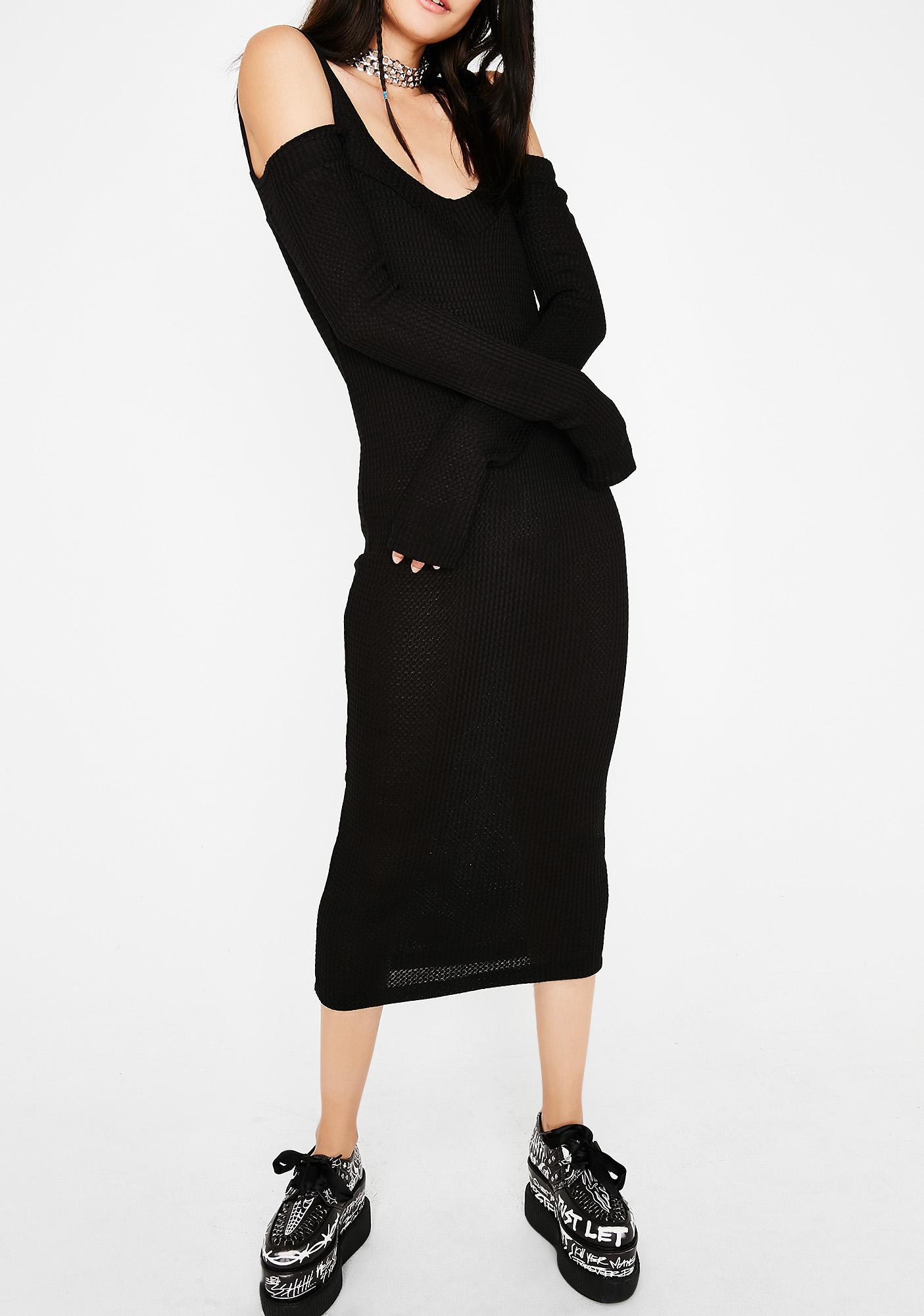 Rich Craft Midi Dress