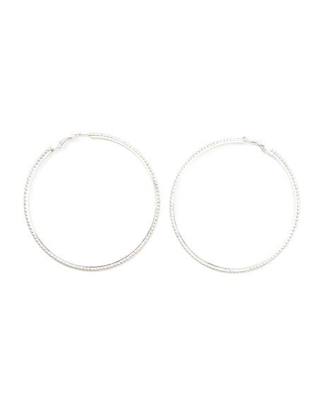 Woke Up In Love Rhinestone Hoops