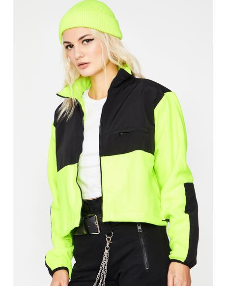 Nunya Business Neon Jacket