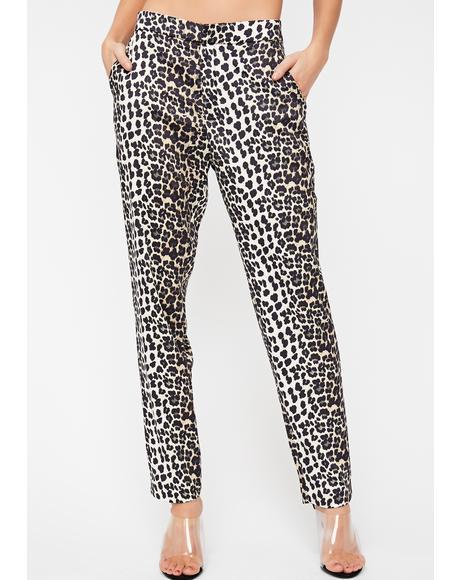 Killing 'Em Leopard Trousers