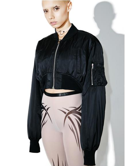 Villain Cropped Bomber