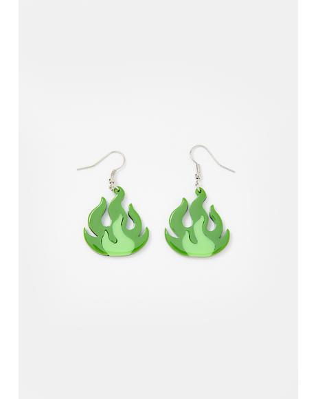 Anti-Freeze Drop Earrings