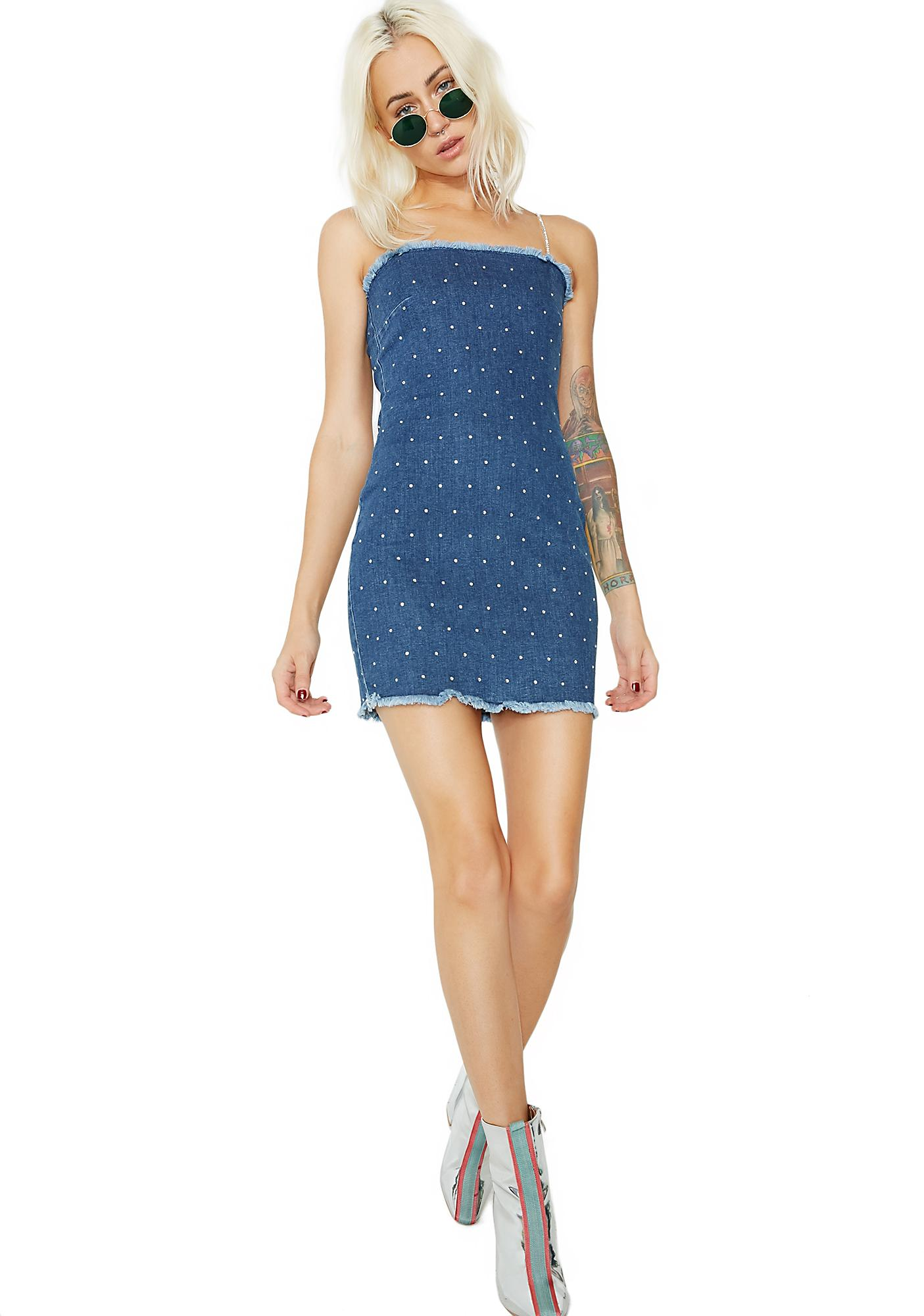 Jaded London Denim Cami Dress