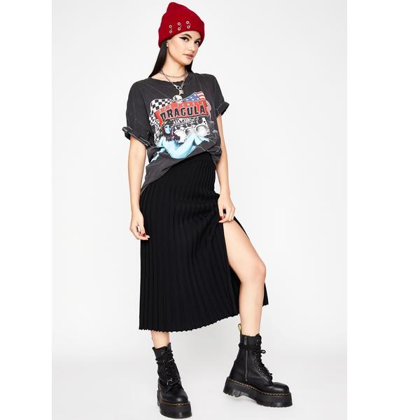 Grunge Delusion Midi Skirt