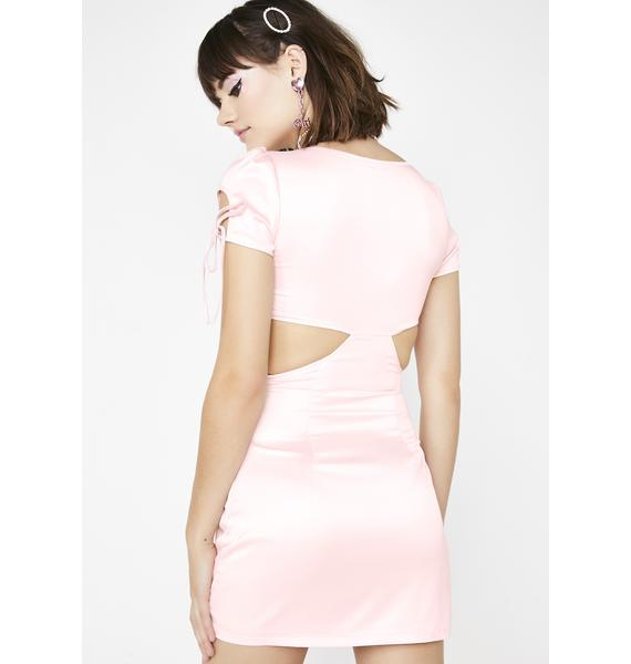 Sugar Thrillz Peachy Popsicle Cut Out Dress