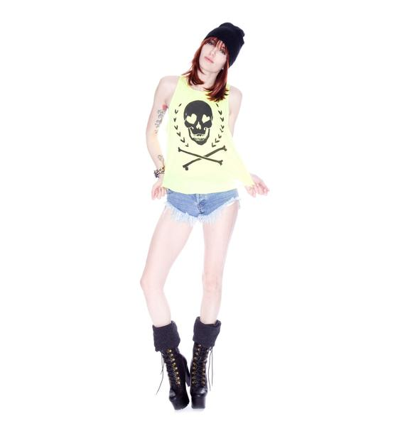 Wildfox Couture Dark Heart Cassidy Tank