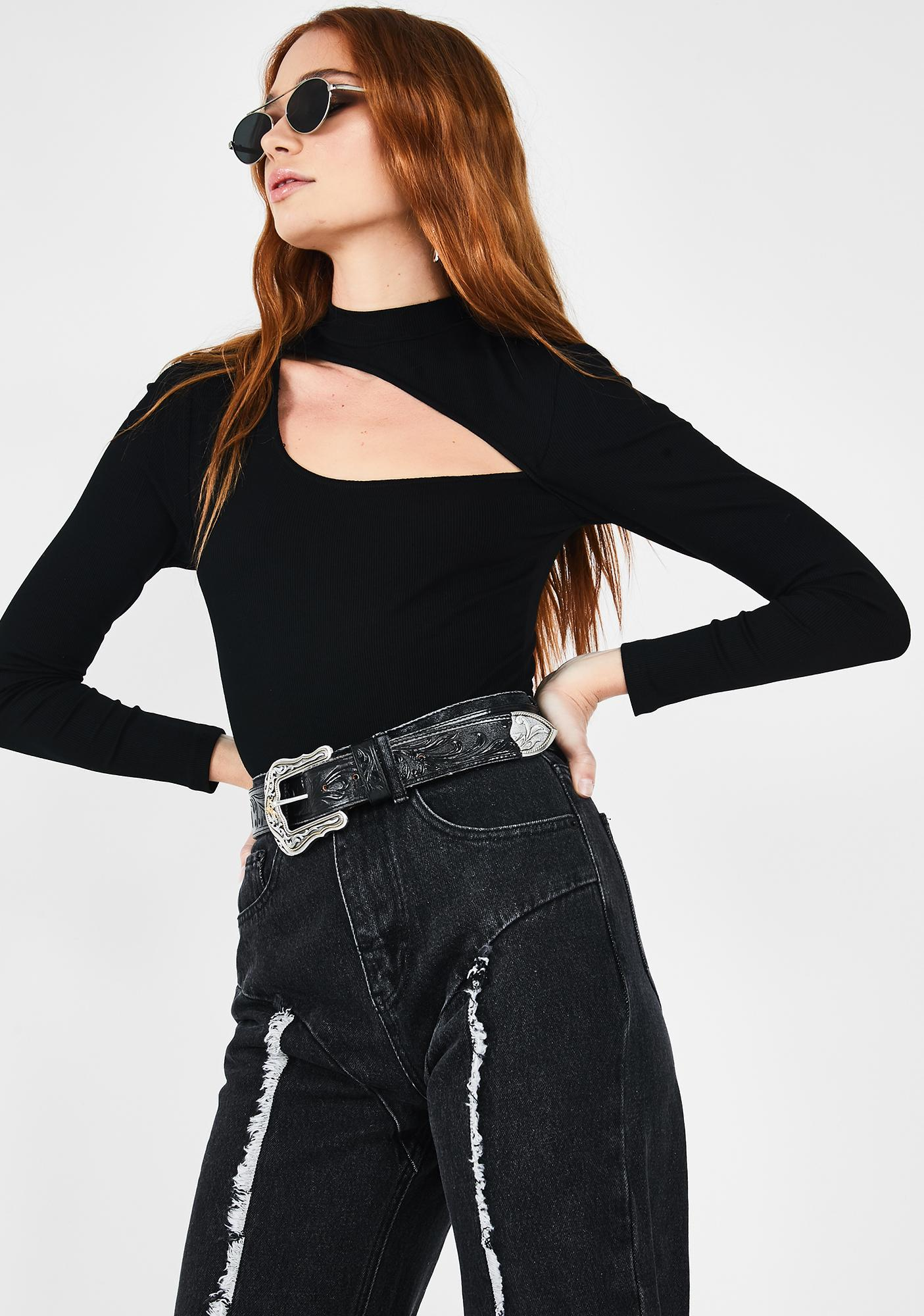Runaway the Label Madison Cut-Out Bodysuit
