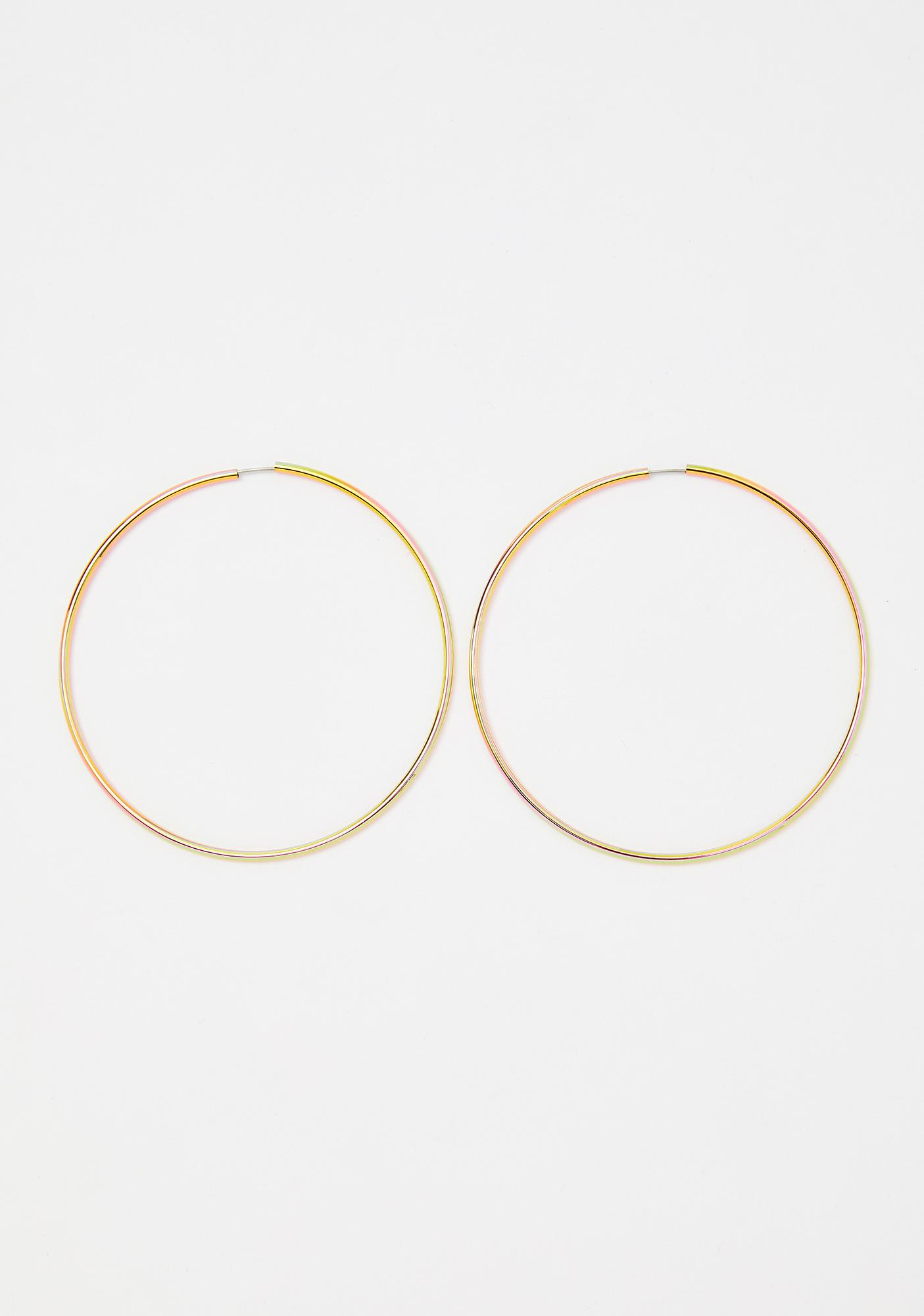Golden Days Hoop Earrings