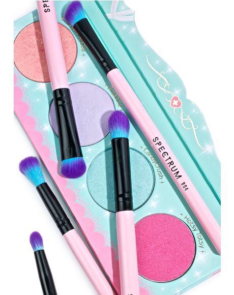 8 Piece Eye Blending Brush Set