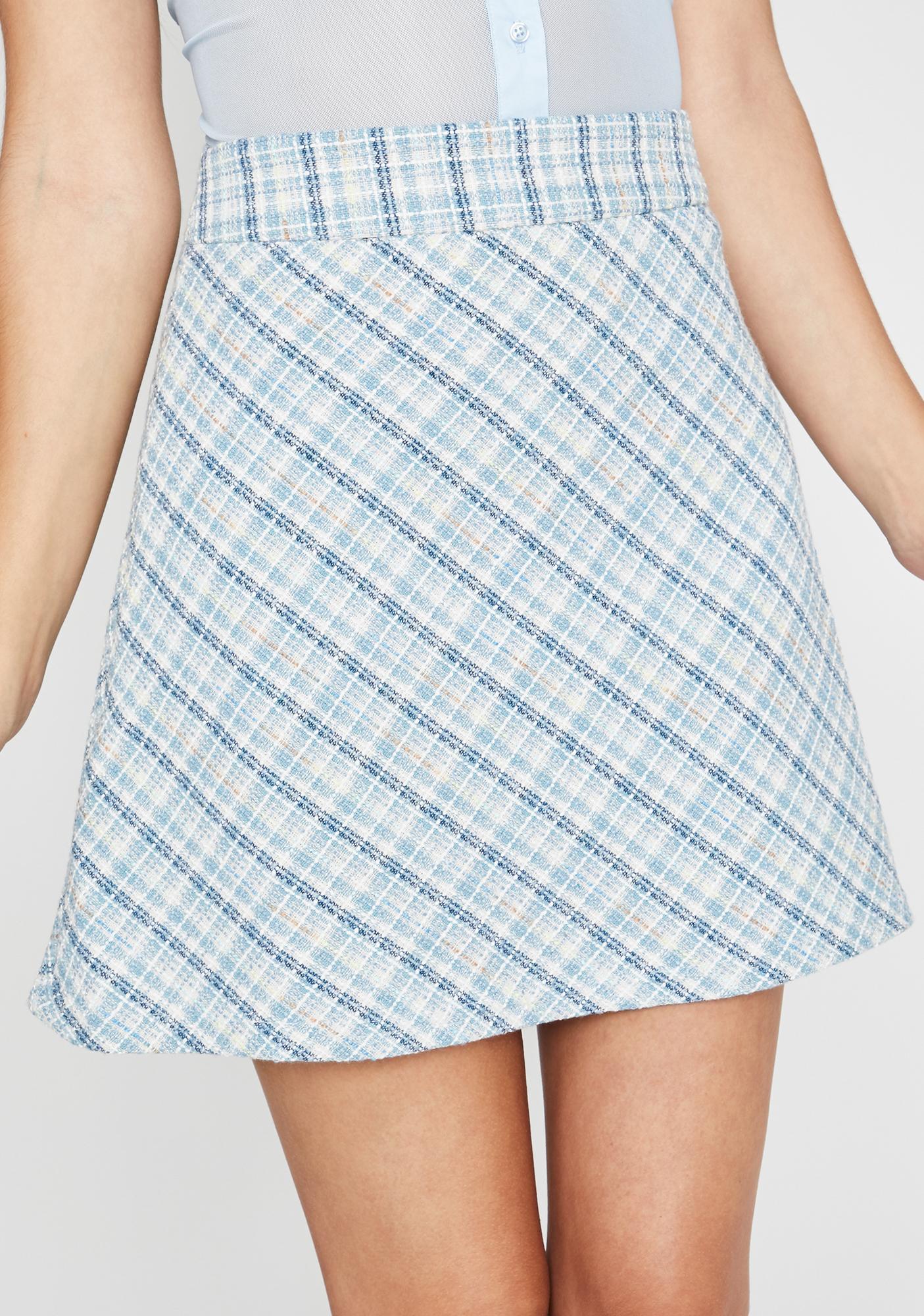 Sugar Thrillz We're Going Shopping Mini Skirt