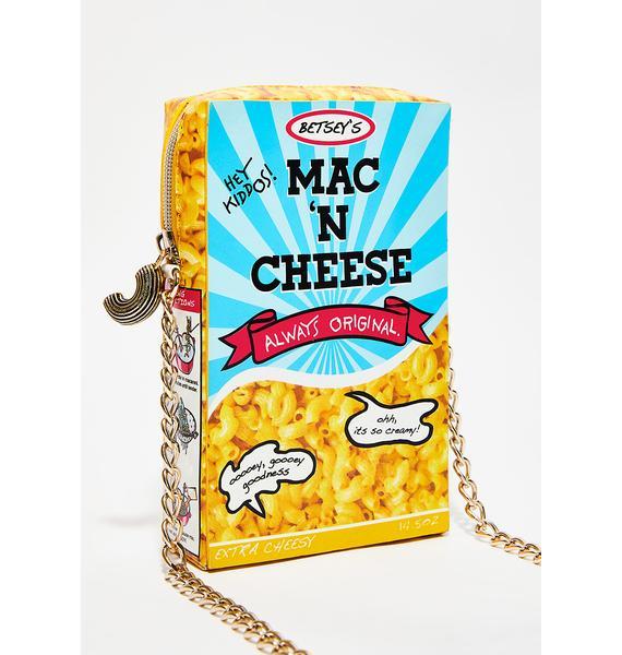 Betsey Johnson Smack N Cheese Crossbody