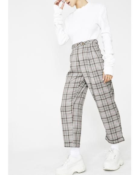 School Daze Plaid Pants